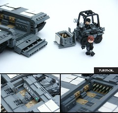 [Z-BA] Main Battle Tank (Turmoil) [4] ([Stijn Oom]) Tags: fantastic tank lego interior small cooper works build loader decals tanks governmental tanksenjilkeenlieke