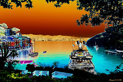 I found my love in Portofino (Luca131313) Tags: mare blu liguria barche portofino pescatori nikond5100 luca131313
