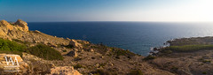 Selmun Bay (McCarthy's PhotoWorks) Tags: europe malta med mediterranean selmun bay coast coastline horizon landscape limestone nature ocean outdoor sea seascape seaside shoreline valley wilderness