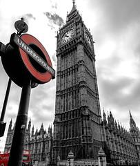 bigben black & white (phooneenix) Tags: london londres blackwhite bigben