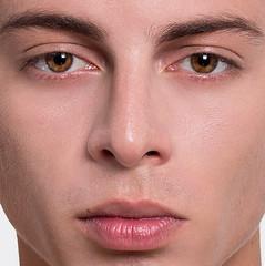 D e t a i l s (NeoGaboX) Tags: macro texture textura portrait retrato digital retouch beauty handsome guy man skin eyes high end venezuela guayana puerto ordaz detail