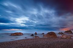 Marina (quinoal) Tags: 0532 paseodeloscanadienses marina rocas nubes mar marmediterrneo quinoal mlaga