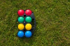 Boccia (@lattefarsan) Tags: sommarnoje colour grass summer vacation game play boccia sommarnje fs160828 fotosondag