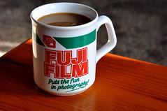 Ahh Coffee, Fujifilm Puts The Fun In Photography (Martin Pettitt) Tags: burystedmunds uk suffolk summer nikond90 indoor coffee mug fujifilm break september project366 dslr afsdxvrzoomnikkor18105mmf3556ged