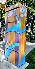 Outside the Box Art Project, Elm Avenue and Mount Pleasant, Toronto, ON (Snuffy) Tags: outsidetheboxartproject elmavenueandmountpleasant toronto ontario canada autofocus level1photographyforrecreation