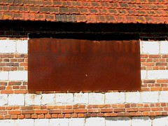 """Panneau publicitaire rouill """"MEUBLE PILOTE"""" (xavnco2) Tags: remiencourt somme picardie france pannneau publicitaire advertising werbung publicit pubblicit french sign billboard rouille rust rusty"""