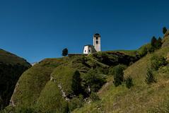 Church @ Cresta (Avers) / Grischun CH (andwest) Tags: viasett panasoniclumixdmclx100 savognin cresta juf bivio mittlerwissberg pizturba graubnden grischun hiking hikr wandern trekking travel reisen mountains berge alps alpen summer sommer snow schnee nature natur backpack rucksack europe switzerland schweiz suisse svizzera svizra myswitzerland schweizmobil landscape landschaft andwest