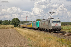 "185 538 + 185 614 ""TXL"" mit ARS Altmann - 28.08.2016 - Rohrsen (D) (Frederik L.) Tags: db bahn zug eisenbahn privatbahn baureihe 185 txl ars altmann gterzug bahnhof cargo train trains"