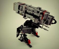 AWF Launcher III (Marco Marozzi) Tags: lego legodesign legomech launcher droid mecha marco marozzi moc walker
