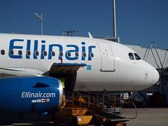 Ellianair A-319 (antallajos) Tags: munich airfrance klm uzbekistan airbus boeing ellinair condor germania transavia b767 b737700 b737800 a320 a319 mnchen
