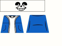 Sans decal (superherofigs) Tags: lego undertale sans decal custom decals papyrus