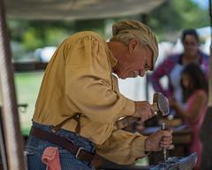 HB Civll War Reenactor (Jose Matutina) Tags: blacksmith california civilwar historical history huntingtonbeach orangecounty reenactment reenactor sel85f14gm sonya7ii unitedstates