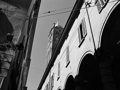 San Pietro church tower (PMA audio) Tags: church tower bologna sanpietro
