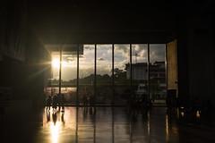 Illusion () Tags: illusion taiwan taipei fine are museum arto museo sunset ceiling windows