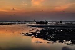 You find me on the beach (yarin.asanth) Tags: yarinasanth gerdkozik longexposure tripod tourists paradise silence alone kohyaoyai sunrise morning boats fisher sea calm thailand island yaoyai