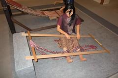 Traditional Malaysian weaving (quinet) Tags: 2015 aborigne borneo iban kuching kuchingtextilemuseum malaysia sarawak ureinwohner native
