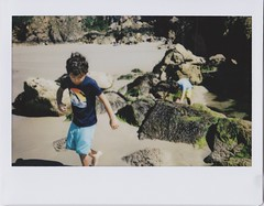 (bobby stokes) Tags: instaxwide instax instantcamera fujifilminstax guernsey analogue film instant beach sea ocean