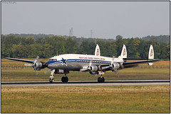 IMG0874FL4 (Gerry McL) Tags: l1049 super constellation lockheed basel bsl france euroairport switzerland hbrsc