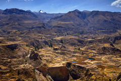Colca, Peru (szeke) Tags: canyon colca landscape mountain peru river sunny arequipa pe
