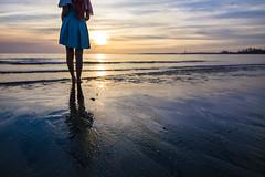 Lacus Clyne (without PS) (bdrc) Tags: asdgraphy lacus clyne gundam seed anime cosplay girl portrait sea beach coast shore bella haro sepang avani sunset dusk sand wave cloud sky water tokina 1116mm f28 ultrawide sony a6000 alpha