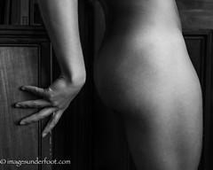 Against the Wall detail (MacroGreg) Tags: monochrome nude