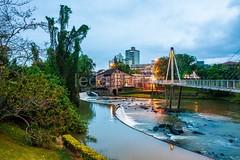 timb-0057 (iedafunari) Tags: timb santa catarina brasil tapyoka represa rio benedito passarela anoitecer ponte enxaimel