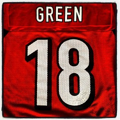 Which 18 will come out on top today? @PeytonsHead or @ajgreen_18 ? I vote #whodey #Bengals