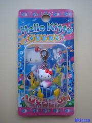 Hello Kitty Aquarium limited mascot-2007. (HKTESSA) Tags: cute japan toy tokyo hellokitty kitty charm sanrio mascot kawaii strap figurine netsuke fastener  gotochi