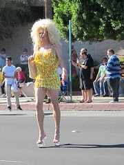 November 4, 2012 (166) (gaymay) Tags: love yellow festive drag happy desert palmsprings gaypride triad gayday rainbowgame prideparde