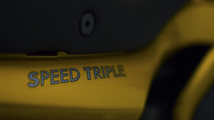 Speed Triple (Tetzsc) Tags: sexy bike yellow triumph motorcycle speedtriple