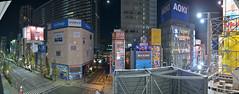 20121011ZOE(ZONE OF THE ENDERS) akihabara akiba (PhotoAkiba) Tags: panorama japan zoe tokyo robot mainstreet panoramic   akihabara nightview akiba  electrictown     zoneoftheenders    kcej