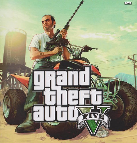 GTA V HD ATV Artwork
