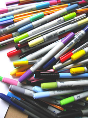 I ♥ markers!