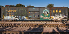 SAINT  CREAT  FIVE  RP  ???? (TRUE 2 DEATH) Tags: railroad art saint train graffiti 5 five tag graf traintracks trains railcar faves boxcar railways rp railfan freight ichabod creat csx freighttrain benching freighttraingraffiti csx198924