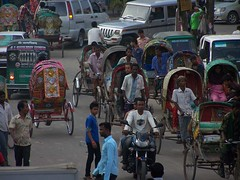 Rickshawmania (2) (Rik de Goede) Tags: rickshaw srimongal