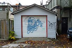 DSC_0715 v2 (collations) Tags: toronto ontario architecture graffiti documentary vernacular bang laneways ack alleys lanes garages alleyways builtenvironment vernaculararchitecture urbanfabric
