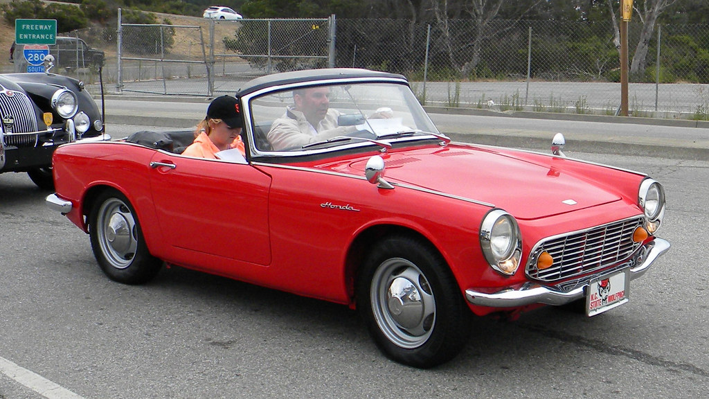 1965 Honda S600 Roadster 'XVS 1426'' 2 by Jack Snell - Thanks for over 26 Million Views, on Flickr