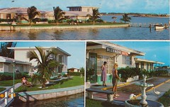 Bluenose Apartment Motel - St. Petersburg, Florida (The Pie Shops Collection) Tags: vintage stpetersburg apartment florida postcard motel bluenose shuffleboard