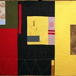 "<b>Title to Follow 13, 1993-1994 (after: Raymond Saunders)</b><br/> Rebecca Kamm (Art Quilt, 2011)<a href=""http://farm9.static.flickr.com/8057/8200571274_a482d16b57_o.jpg"" title=""High res"">∝</a>"