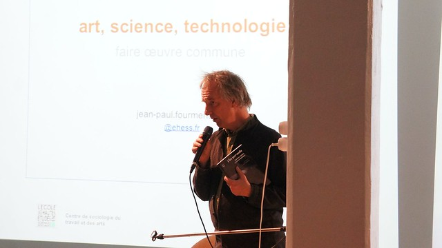 Arts/Sciences12 - Jean-Paul Fourmentreaux (iMAL.org)