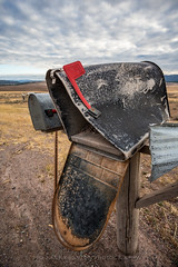 Special Delivery (Mark Payton Photography) Tags: mailbox rural montana canonef1740mmf4lusm greenough ruralroute markpayton canon5dmkiii missoulaphotographer markpaytonphotography