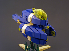 Aquatic Fighter 01 (Legohaulic) Tags: lego scifi starfighter submersible