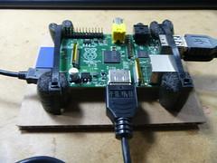 VIA-APC-Raspberry-PI-P1010989 (el cajon yacht club) Tags: black make cardboard hack friday raspberrypi