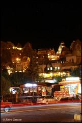 Goreme by night (Roby_wan_kenoby (the only one)) Tags: canon turkey eos cappadocia goreme turchia kapadokya fairychimneys 450d caminidifata