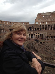 Diane at Coliseum (george_p_white) Tags: rome donaldson daine