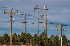 A Kite's Worst Nightmare (Magic Hour Images) Tags: power powerlines electricity lightroom powerpoles