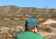Foreground Clutter (El Roco Photography) Tags: california railroad santafe train canon outdoors photographer desert rail trains socal mojave transportation summit locomotive ge silverwood railfan bnsf trainspotting cajon desertlandscape mojavedesert freighttrain sanbernardinocalifornia desertflora inlandempire sanbernardinocounty pilgrimhill forestservice emd atsf usfs burlingtonnorthernsantafe desertmountains cajonpass es44dc gevo railfans alltrains alray stacktrain bnsfrailroad traininaction burlingtonnorthernsantaferailroad hill582 movingtrains desertshrub desertbeauty deserttrains aphotographersnature elrocophotography sanbernardinorailroads 3n45 forestserviceroad3n45 bnsfcajonsubdivision