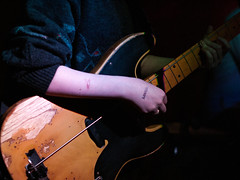 """loved"" one-stringed bass (marukomu) Tags: flowers london bass stamp string buffalobar highbury loved hdif howdoesitfeel"