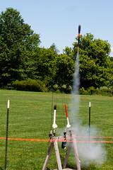 CT509 Model Rocket Launch (listentoreason) Tags: usa america canon newjersey model unitedstates favorites places scalemodel modelrocket modelrocketlaunch ef28135mmf3556isusm score30 northbranchpark
