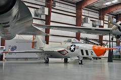 Grumman RF-9J Cougar BuNo 144426 (skyhawkpc) Tags: arizona tucson aviation az cougar allrightsreserved grumman pimaairspacemuseum cy2 rf9j mcascherrypoint 144426 garyverver vmcj2 hangar1south